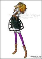 Fashion Design: Steampunk by CasualVillain