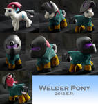Welder Pony by RosesWebofNightmares