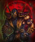 Mortal Kombat Scorpion by HeeWonLee