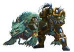 Thrall And Wolf by HeeWonLee