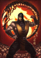Mortal Kombat X Scorpion by HeeWonLee