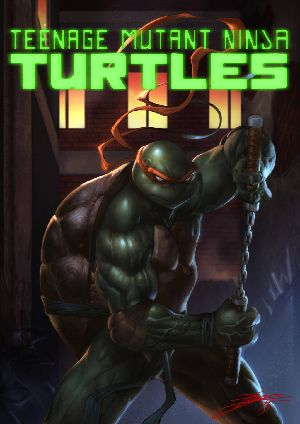 TMNT Mikey!! by HeeWonLee