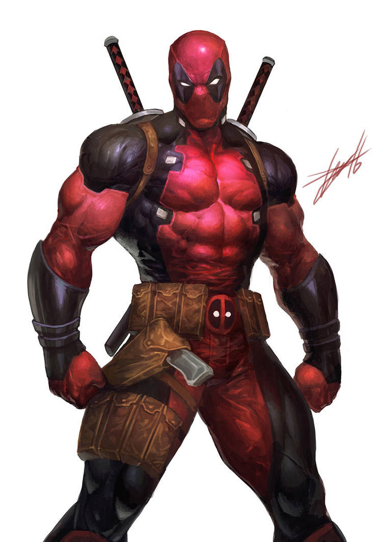 DEADPOOL by HeeWonLee