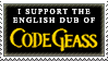 Code Geass English Dub Stamp by TheKnightOfTheVoid