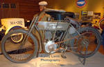 Early Harley-Davidson Motorcycle by Caveman1a