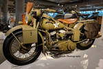1944 WLA Harley-Davidson with Sidecar left by Caveman1a