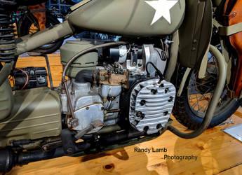 1942 XA Harley-Davidson Engine P2 by Caveman1a