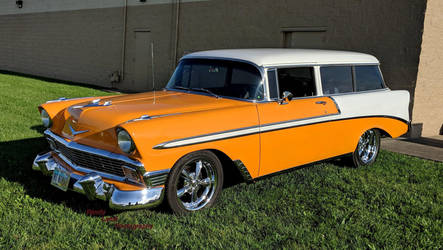 1956 Chevrolet Wagon by Caveman1a