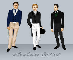 The Turner Brothers by bechedor79