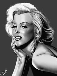 Marilyn Monroe digital by cssp