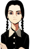 Wednesday Addams by krazyminor2011