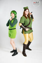 Link and Saria- The Sage and the Hero by Ranaxalu