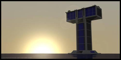 TT: Tower East Sunset by Lightning5trike