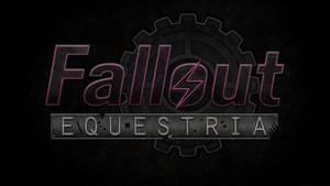 Fallout: Equestria Logo Wallpaper by Lightning5trike