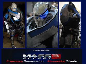 Garrus Vakarian Mass Effect 3 by Alexwazz