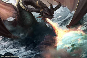 Tyrant Dragon by Fetsch