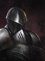 Knight Portrait by Fetsch