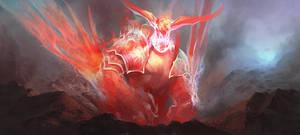 Fire Elemental Wip by Fetsch