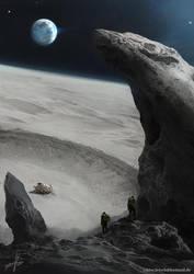 Space 1889 Luna by Fetsch