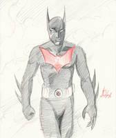 Batman Beyond by JorgeSantiagoJr