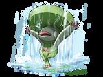 Lombre using Rain Dance by hftran