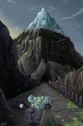 Dawn on the Mountain by hftran