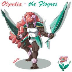 Olyndia the Florges Gijinka by hftran