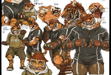 Tiger brothers by inubiko