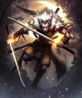 Werewolf by inubiko