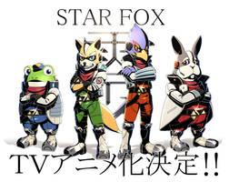 Star Fox TV animated cartoon production decision by inubiko