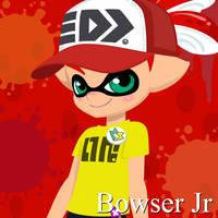 Adwbj Bowser jr, splatoon version by SeantheInkling