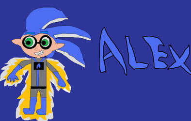 Splat robo- Alex by SeantheInkling
