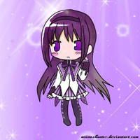 Homura Akemi Colored by Animeshooter