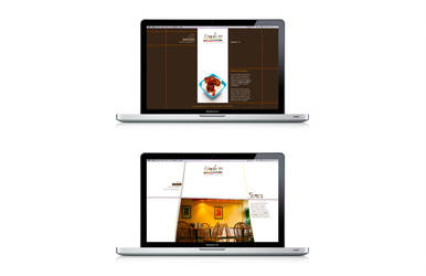 Restaurant webpage 1 by 8JR8