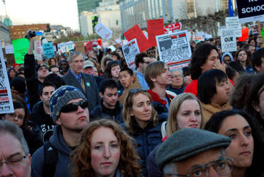 March 4 Protest - SF 3 by IllusionsGlade