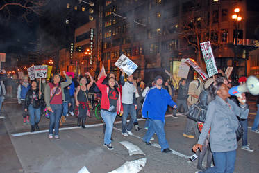 March 4 Protest - SF 8 by IllusionsGlade