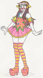 Clowning Around Haruhi (Long Hair) by Kobi-Tfs