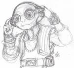 The Pirate Queen, Maz Kanata by ConstantScribbles
