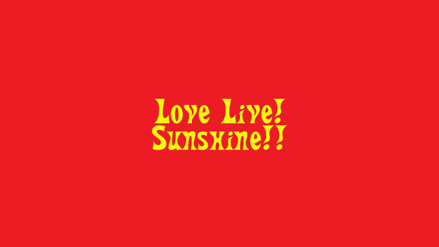 Love Live! Sunshine!! Hot Wheels Style by NemesisRR