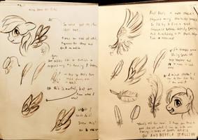 Wings for Echo! by DeerHooves