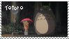 Totoro Stamp by sparkycom