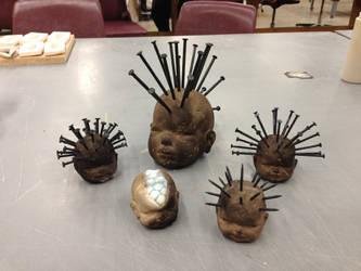 Assorted Babyheads by spookymonkey