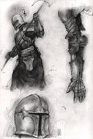 Armour study by Aberzheim