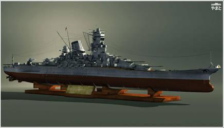 IJN Yamato Studio by Siregar3D