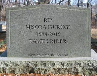 Gravestone for Misora Isurugi by Porfirio739