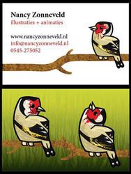 My business card by nancy-kelpie