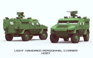 Armoured Vehicle HORT Concept Upgrated by GGMVDB