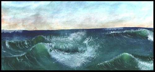 Waves Study by My-Safe-Haven