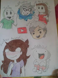 Famous YouTube Animators 1 by LunaLovegood2006