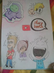 Famous YouTube Animators 2 by LunaLovegood2006